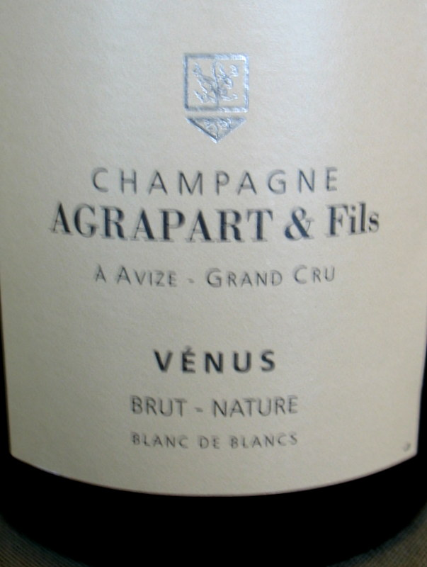 Agrapart Extra Brut Grand Cru 'Venus' 2009 - Click Image to Close