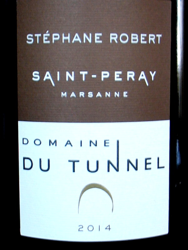 Domaine du Tunnel St Peray Marsanne 2014