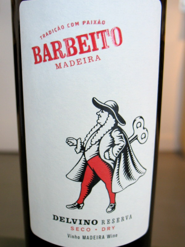 Barbeito Delvino dry 5 Year Old Madeira 500ml