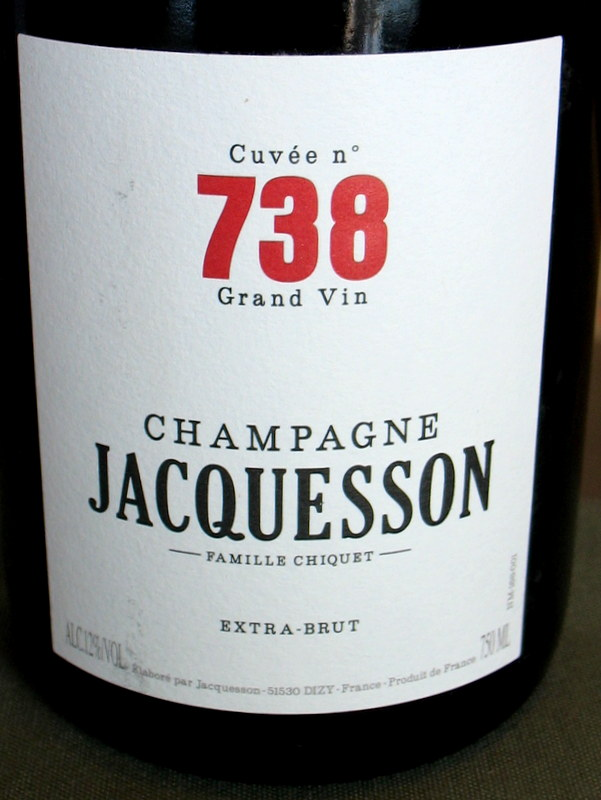 Jacquesson Champagne Cuvee 738