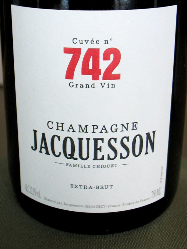 Jacquesson Champagne Cuvee 742