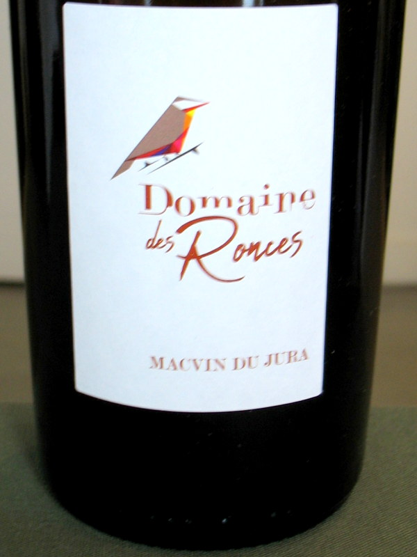 Dom. des Ronces Macvin du Jura 2015 - Click Image to Close