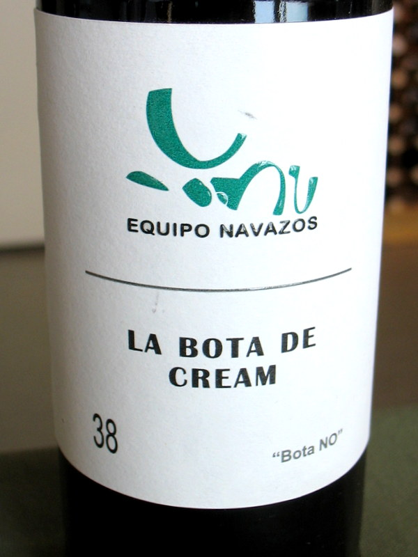 Equipo Navazos Cream sherry Bota NO #38 375ml