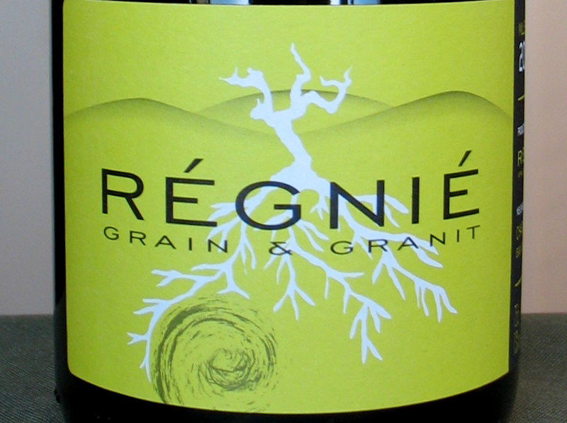 Charly Thevenet 1er Cru Regnie 'Grain and Granit' 2013