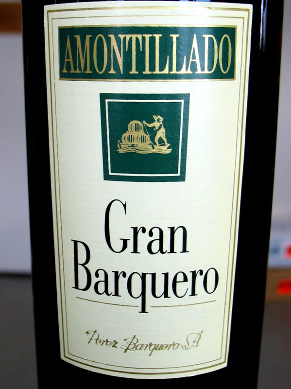 Perez Barquero Amontillado 750ml