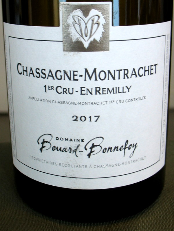 Bouard-Bonnefoy Chassagne-Montrachet 'En Remilly' 2017
