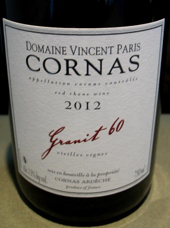 Vincent Paris Cornas Truffle Food Amp Wine Everyday