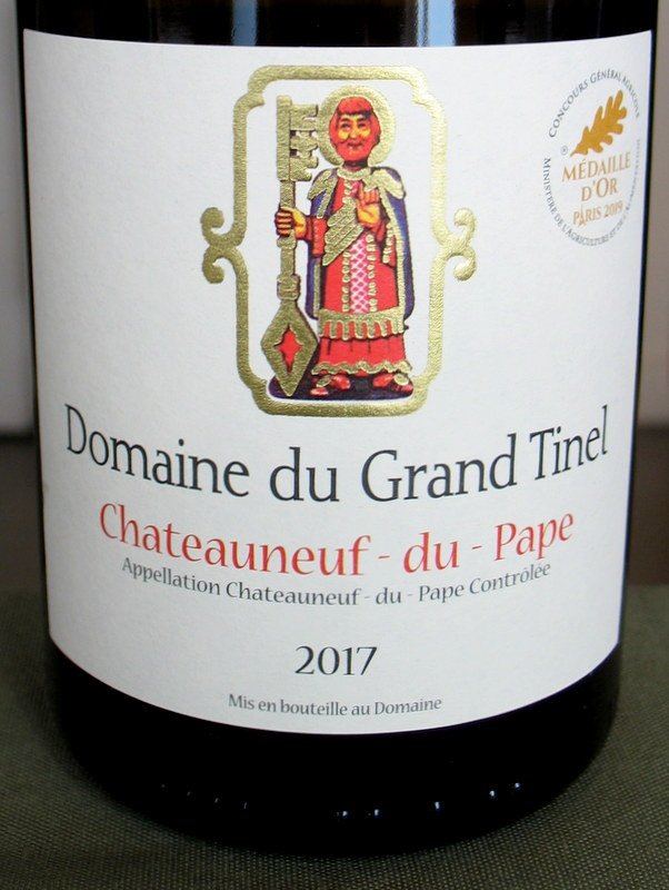 Domaine du Grand Tinel Chateauneuf Blanc 2017