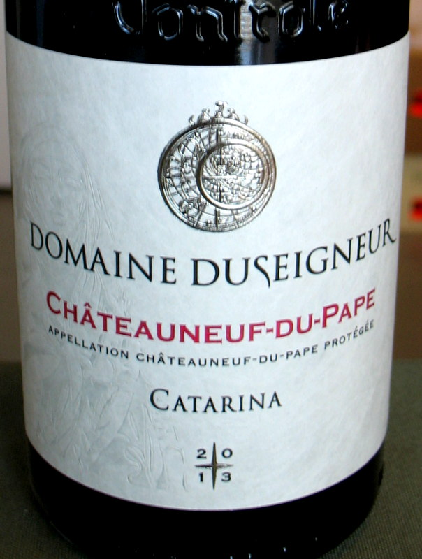Duseigneur Chateauneuf du Pape 'Catarina' 2013