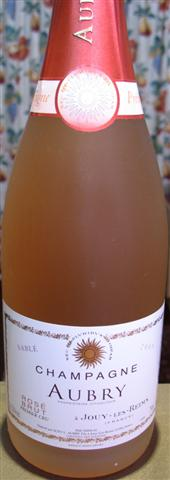 Aubry Sable Rose Champagne 2012