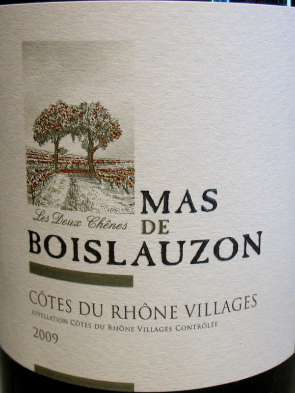Cotes du Rhone Villages 2010