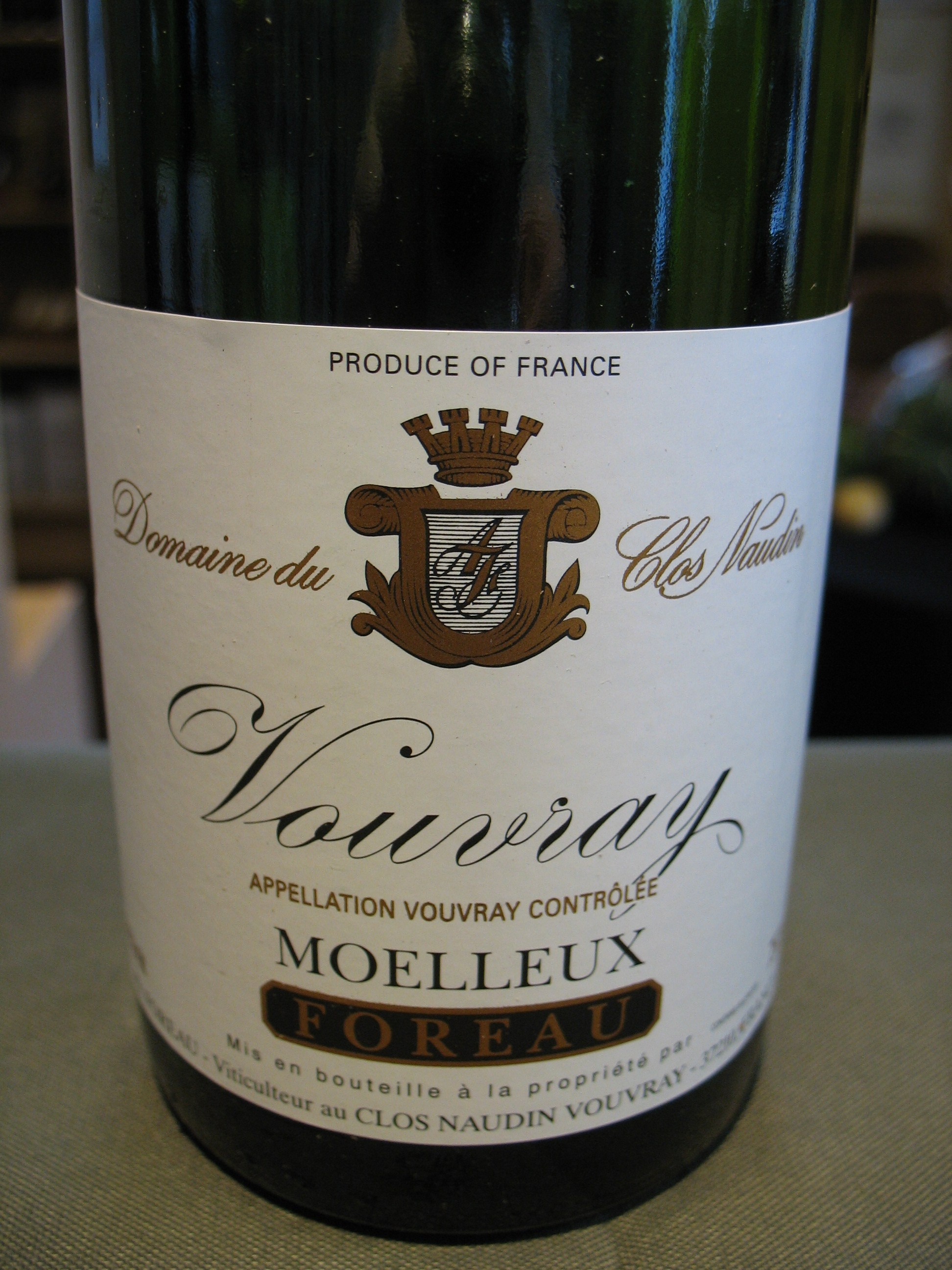 Clos Naudin Vouvray Moelleux 2009